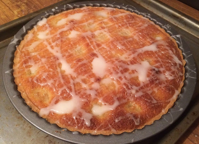 Photograph of my Apricot Frangipane Tart
