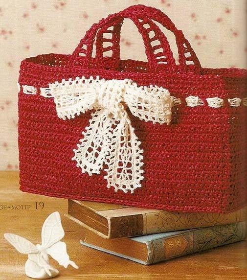 5 Bolsos de Crochet con Patrones y Tutoriales