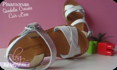 Sandales d'été pour filles : Pisamonas
