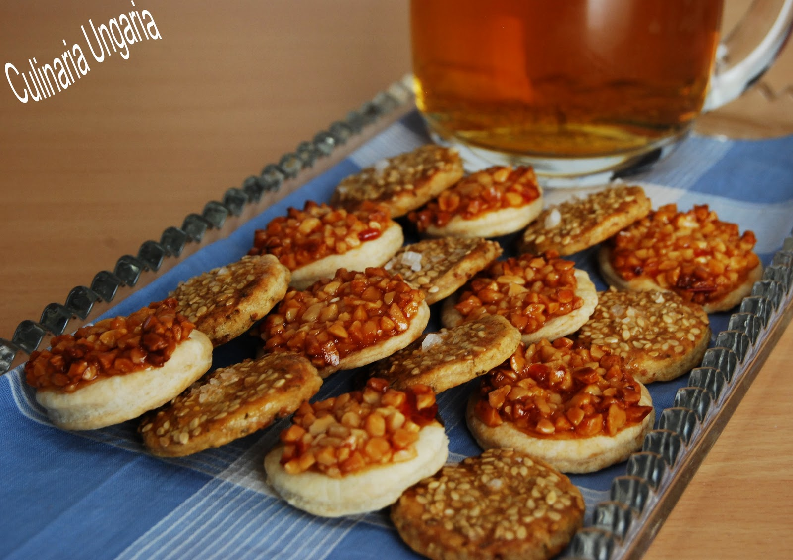 culinaria ungaria ein teig 50 kekse teil ii bier snacks. Black Bedroom Furniture Sets. Home Design Ideas
