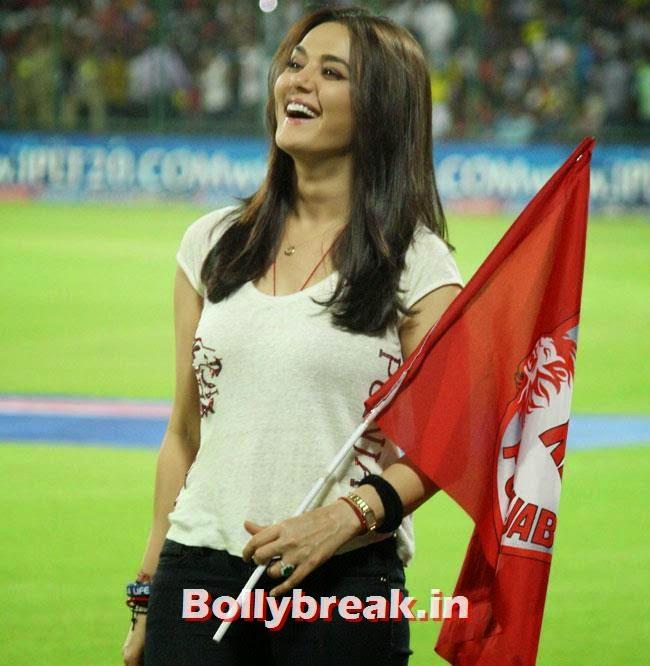 Preity Zinta, Priety Zinta IPL 2014 Pics
