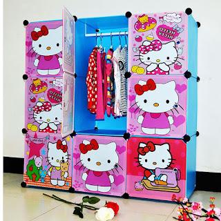 Gambar Lemari Hello Kitty 10