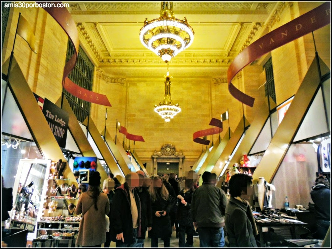 Mercadillos Navideños en Nueva York: GRAND CENTRAL HOLIDAY FAIR