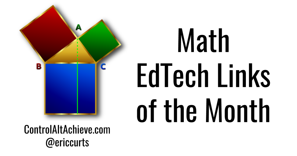 Control Alt Achieve: Math Links