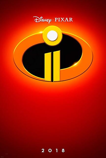 Cartel de la próxima película de Pixar Animation Studios Los Increíbles 2