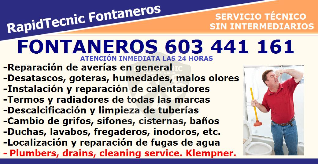 Rapidtecnic Alicante Fontaneros Urb Cala Del Moro Torrevieja 603