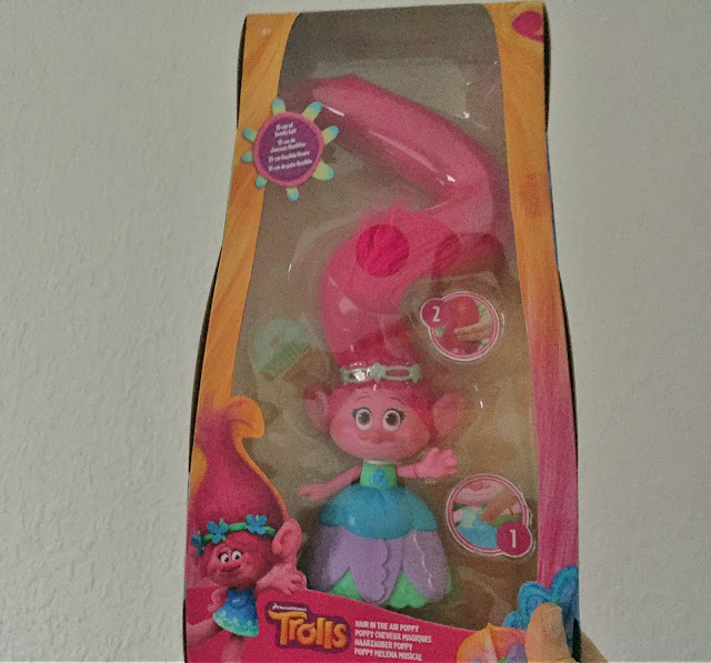 Trolls Poppy toy