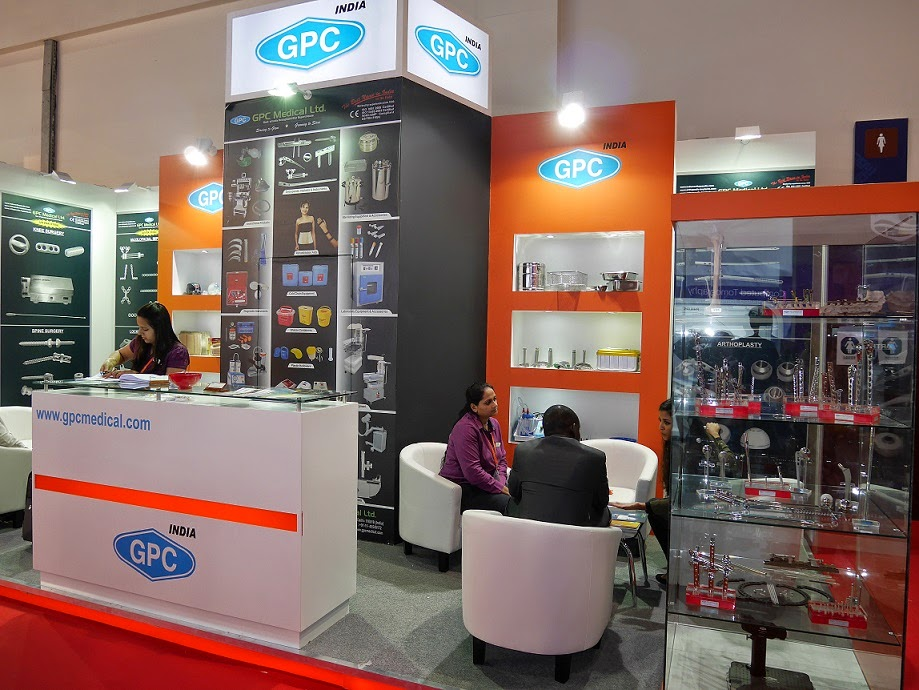 GPC Medical Stand at Arab Health 2014