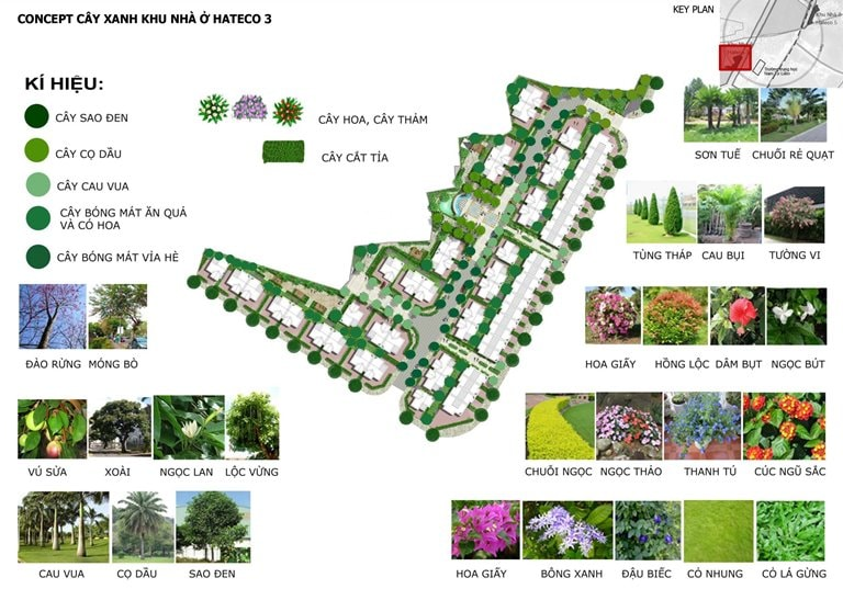 Tiện ích Hateco Green Park