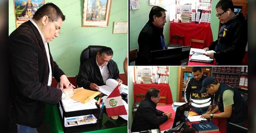 Detienen a director de la UGEL Ayabaca por desvío de 3 millones de soles (Guido Rafael Morocho Troncos) Piura