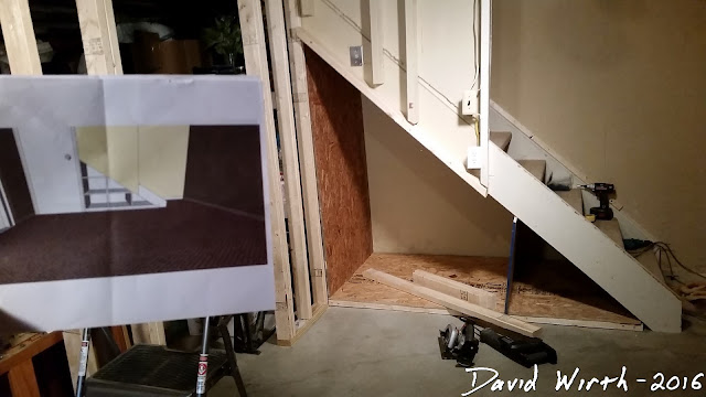 under stairs shelves, plans, drawings, how to, ideas