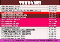 Daftar-Harga-Bahan-Takoyaki