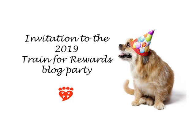 Invitation to the 2019 Train for Rewards blog party