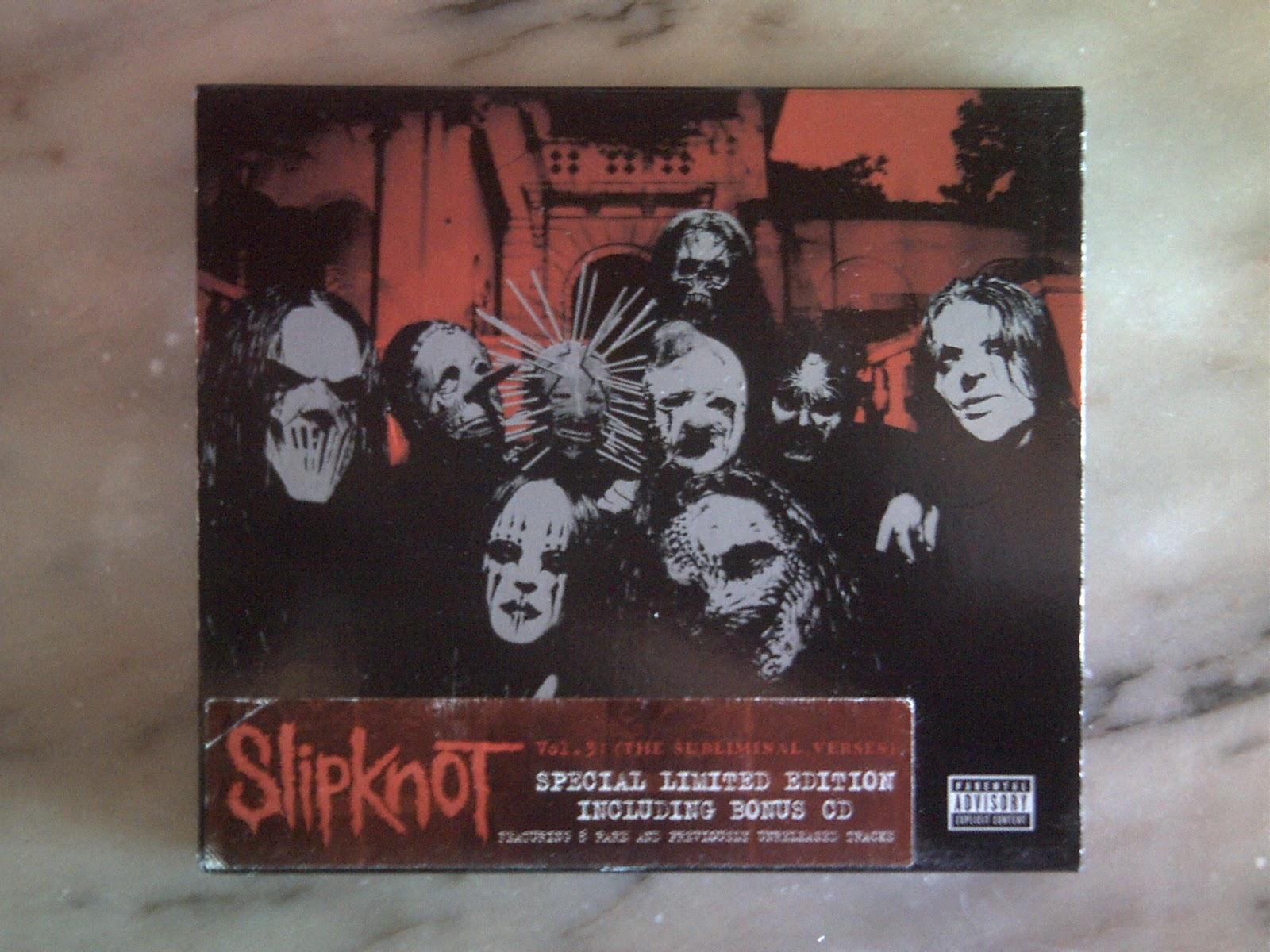 ALBUNS COLLECTION: Slipknot - Vol.3 (The Subliminal Verses ...