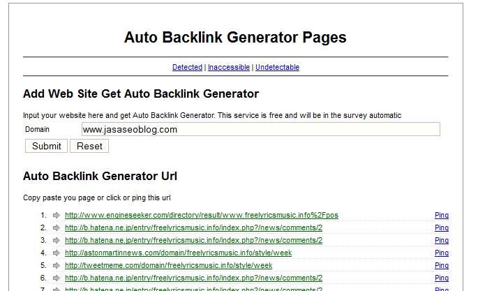 Cara Mendapatkan Ribuan Backlink Gratis