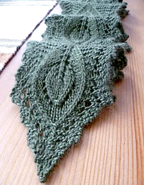 Connecticut Scarf - Free Knitting Pattern