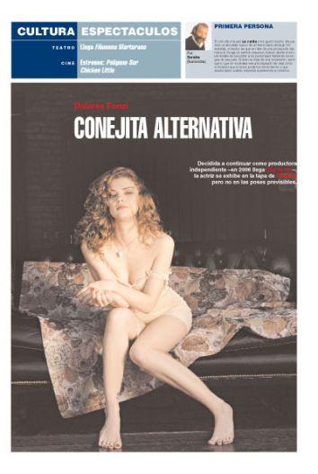 Teatro Independiente La Plata Argentina Dolores Fonzi Conejita