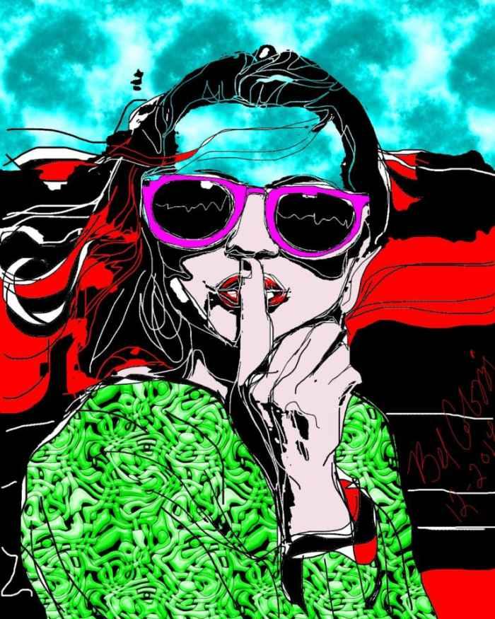 Реальность и фантазия. Belinda Colozzi