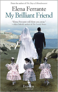 My Brilliant Friend, Elena Ferrante, UK publication front cover