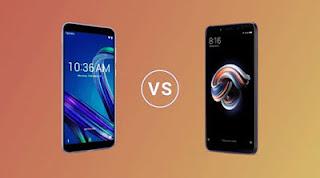 Perbandingan Asus Zenfone Max Pro dan Xiaomi Redmi Note 5