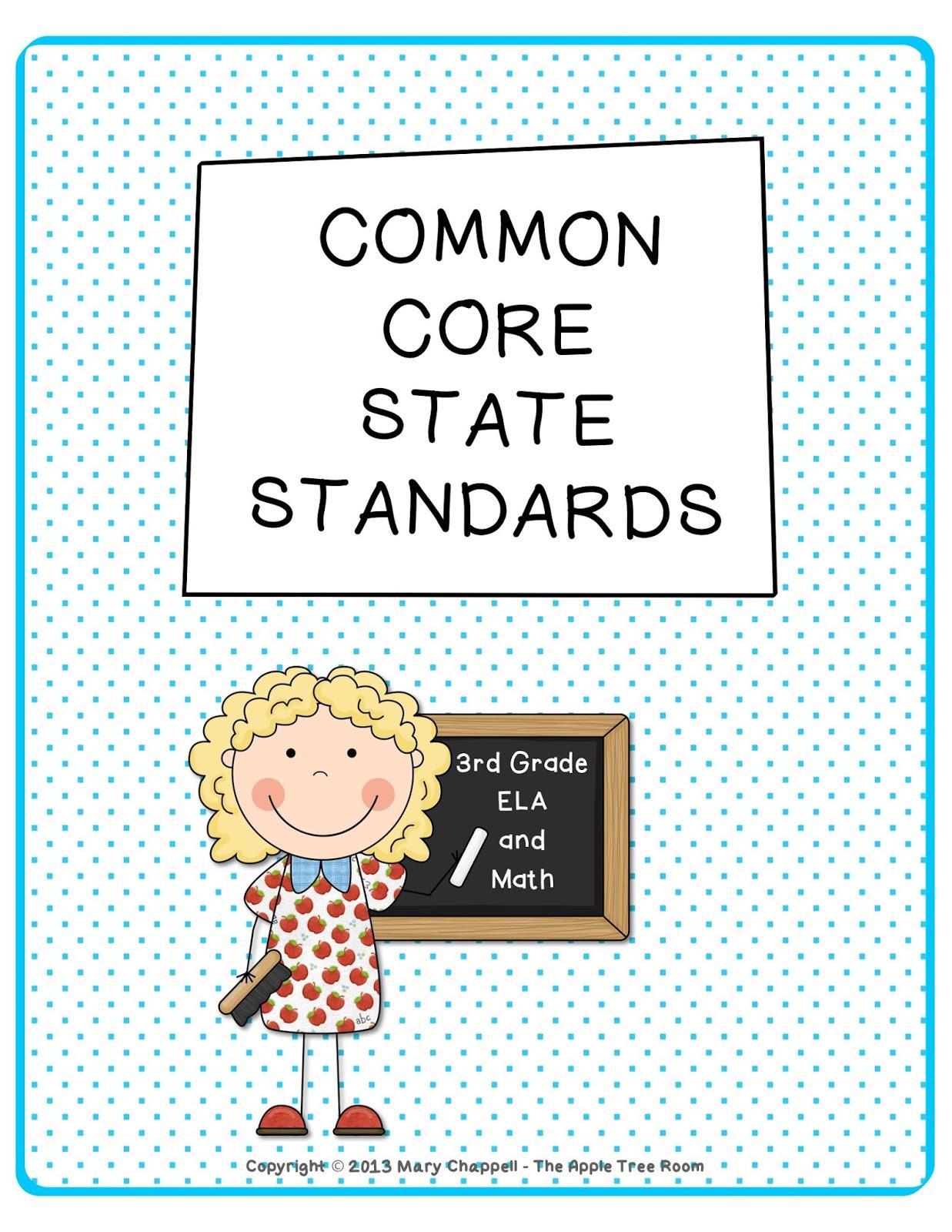 The Apple Tree Room 3rd Grade Common Core Ela Amp Math