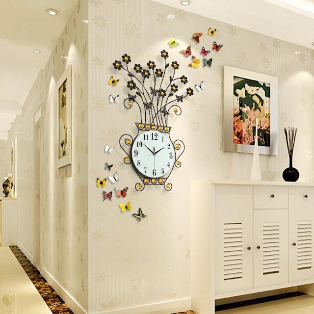 Đồng hồ trang trí treo tường Deco DHNL321