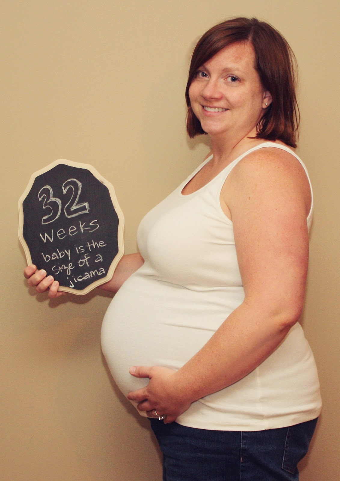 Couch Size More Than 9 To 5 My Life As Quot Mom Quot Baby Bump Update Week 32