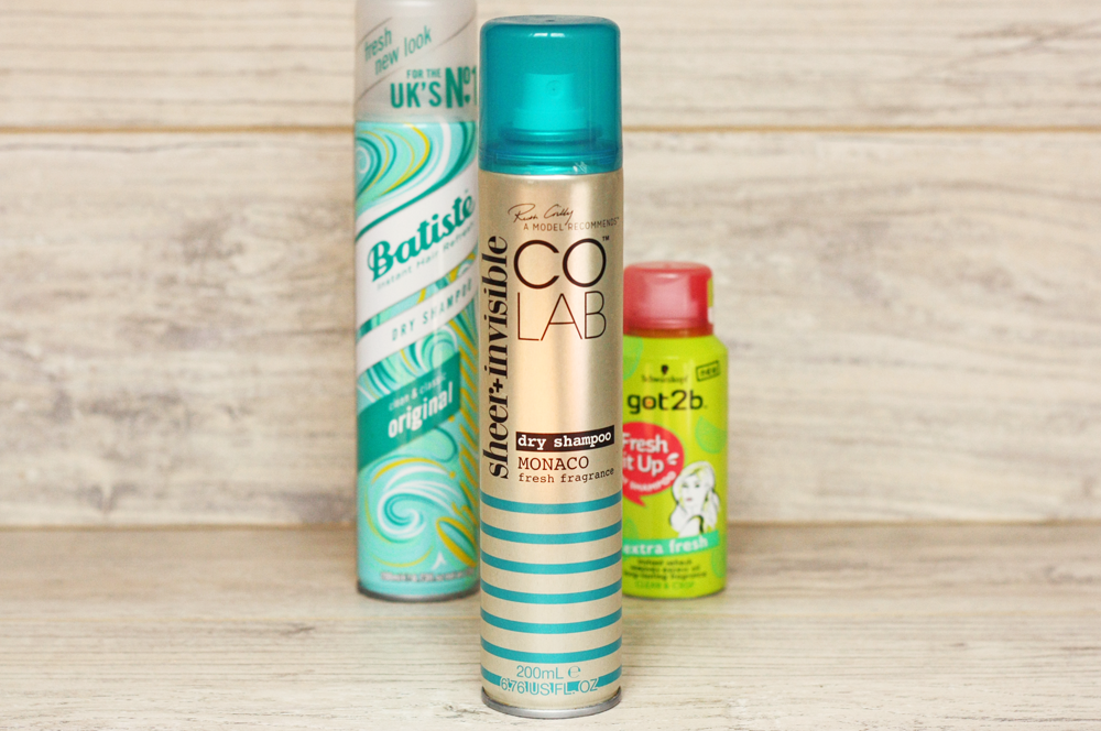 colab, sheer-invisible, dry-shampoo