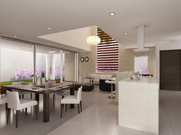 Decoraci n minimalista y contempor nea 3 estilos de for Imagenes de interiores de casas minimalistas