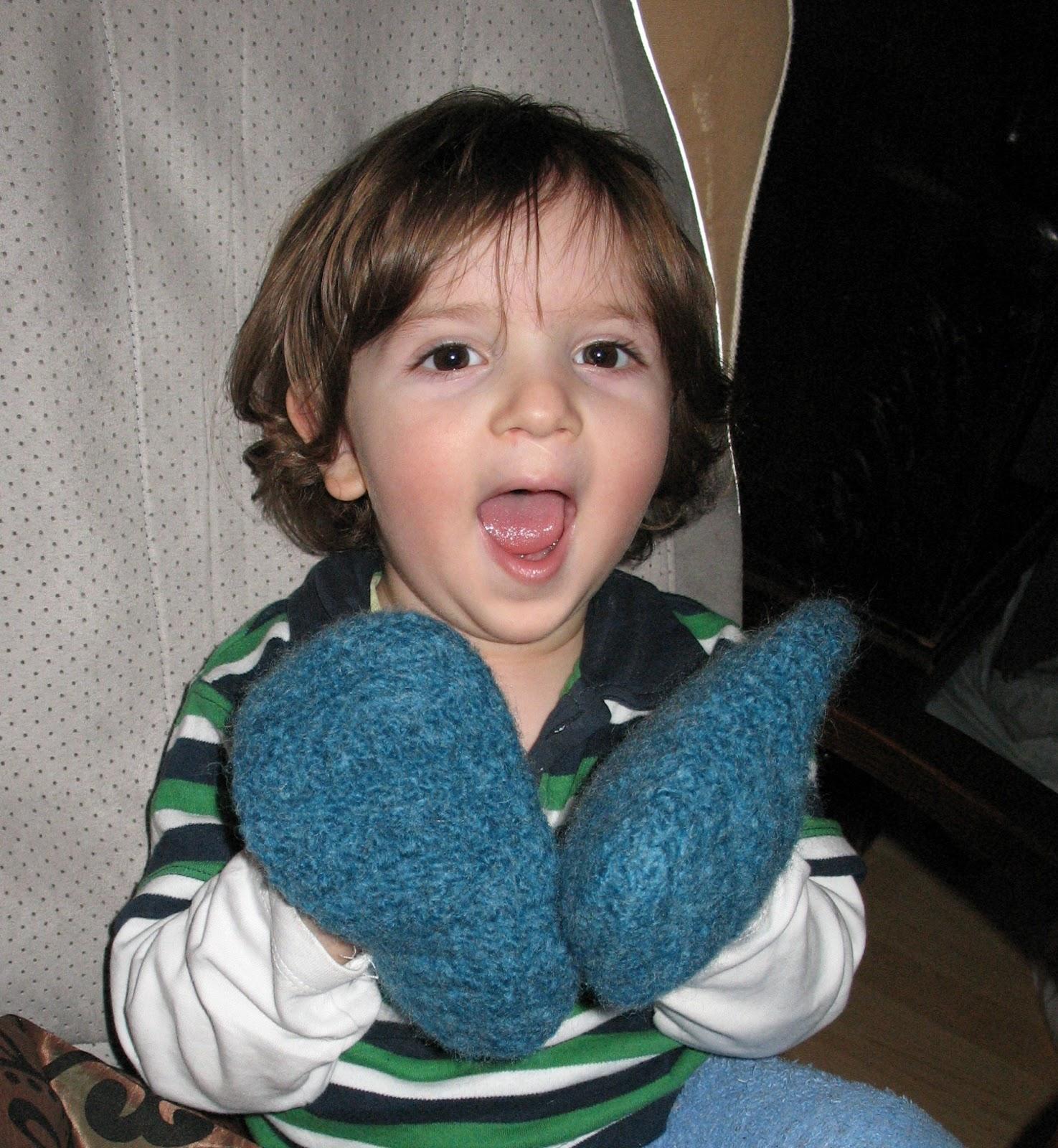Filzschuhe Für Ein Baby Mit Rutschfester Anleitung Bennelle