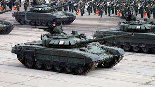 Tank Utama T-72B3 Terbaru