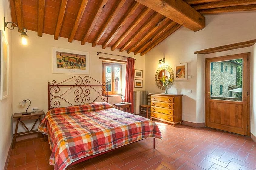 Vacation apartment with pool in Chianti
