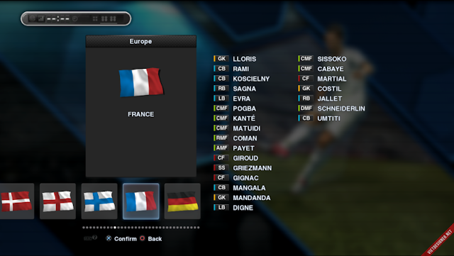 PES 2013 Update Option File PESEdit 6.0 - UEFA Euro 2016