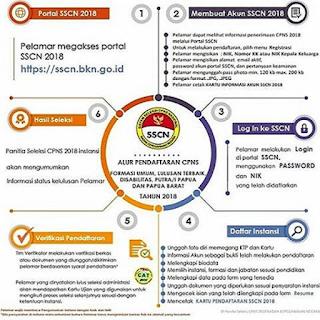 Tata Cara Registrasi & Alur Pendaftaran CPNS Tahun 2018
