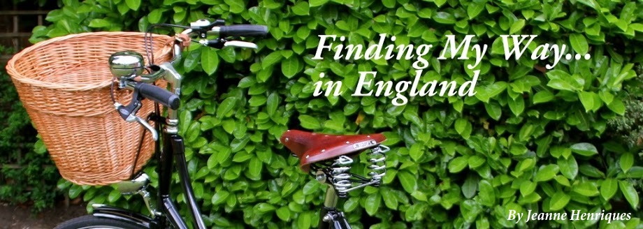 Finding my way...in England