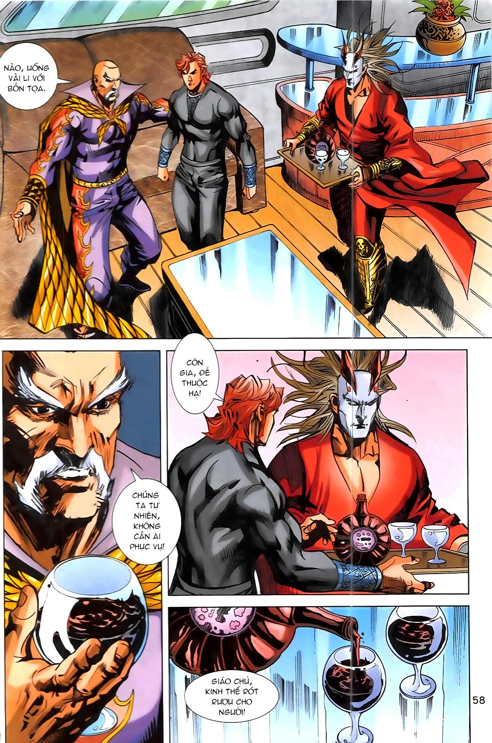 Hoàng Giả Chi Lộ chap 12.2 Trang 30 - Mangak.info