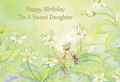 happy birthday to a sweet daughter