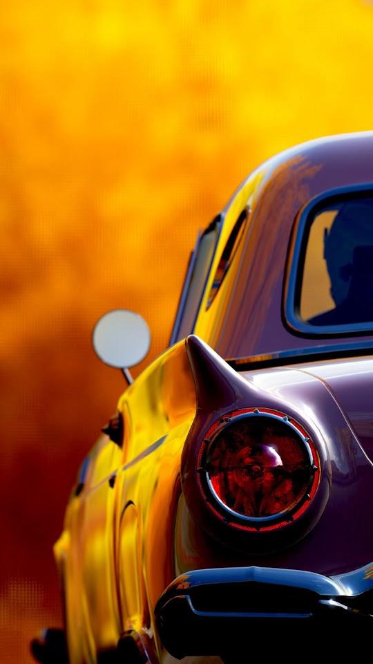 Classic Retro Car Tail Lights  Galaxy Note HD Wallpaper