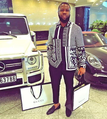 """I Make Having Money Look Good"" – Hushpuppi Gushes Over His ""Success"""