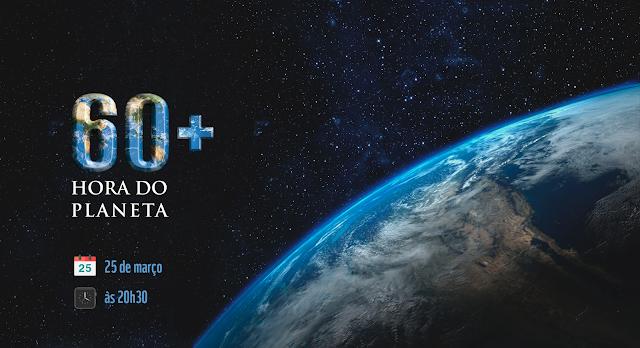 A Hora do Planeta está chegando! ;-)
