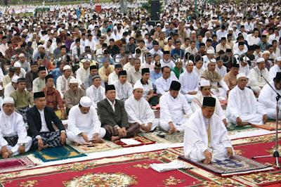 Tata Cara Sholat Hari Raya www.fiqihsunah.com