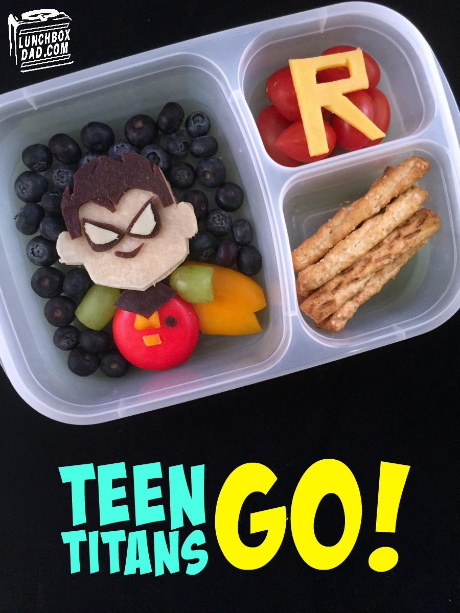 Lunchbox Dad Teen Titans Go Robin Bento Lunch-3803