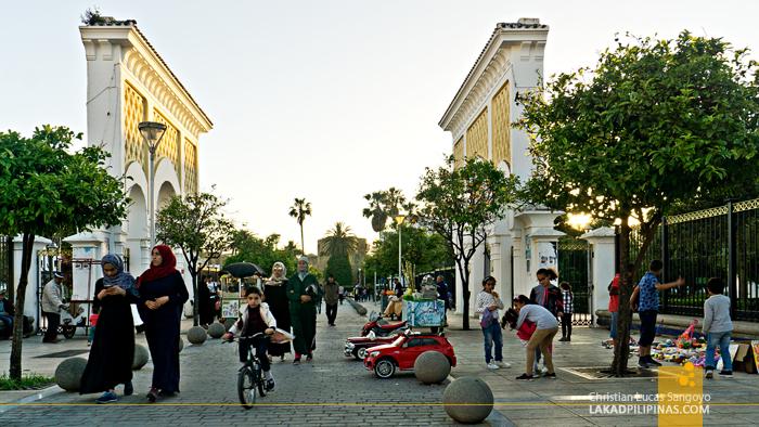 Asilah Morocco Plaza