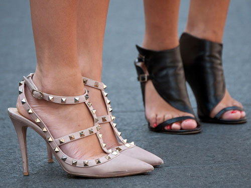 Buttercuptrend Shoes Spotted At New York Fashion Week
