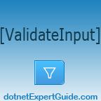 ASP.NET MVC: ValidateInput