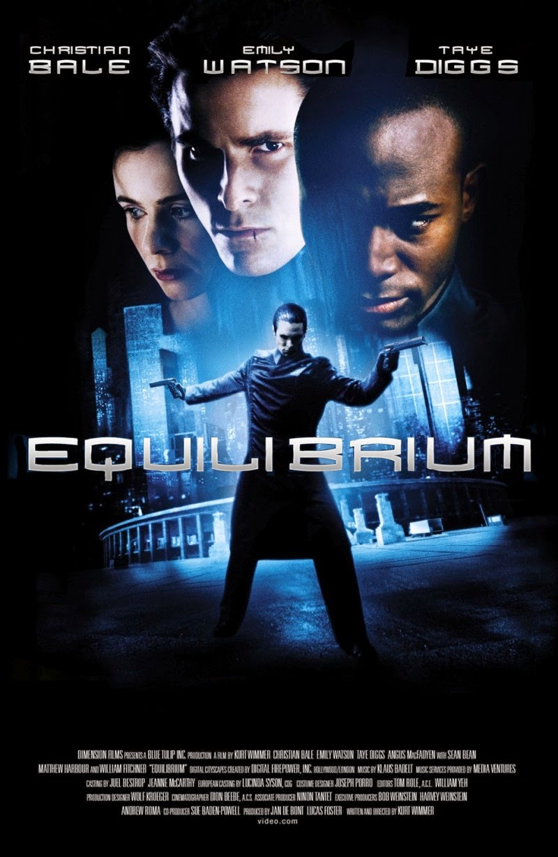 Equilibrium: Written and Directed By Kurt Wimmer | A Constantly Racing Mind