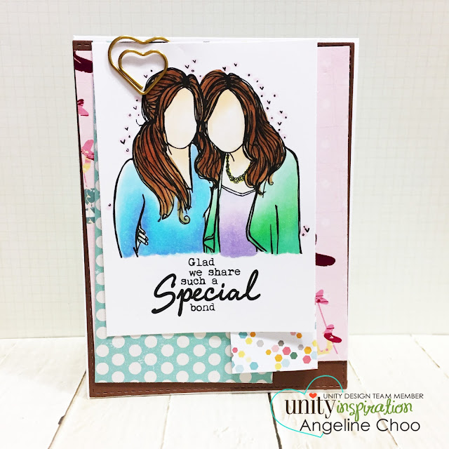 ScrappyScrappy: [NEW VIDEO] 9th Birthday Celebration with Unity Stamp #scrappyscrappy #unitystampco #card #cardmaking #youtube #quicktipvideo #video #papercraft #craft #crafting #stamp #stamping #friendship #americancrafts #copic #coloring #goldheart