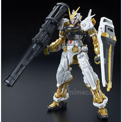 Gundam Astray Gold Frame MBF-P01 Real Grade (RG) 1/144 Model Kit Mobile Suit Gundam SEED ASTRAY
