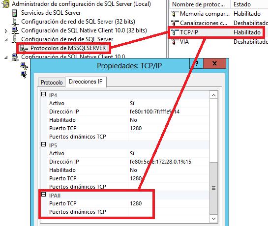 MSSQL: Ver puerto de una instancia