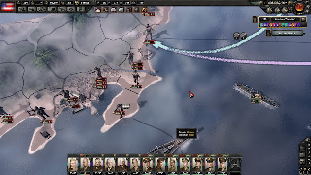 Hearts of Iron IV, My Atomic Crimes home island invasion